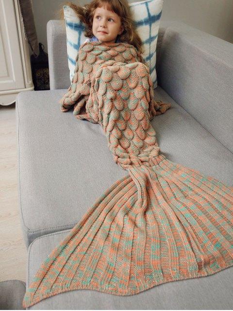 best Knitted Mermaid Blanket for Kids -   Mobile