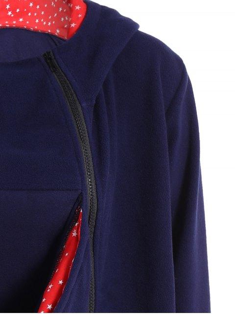 buy Baby Kangaroo Hoodie - BLUE 2XL Mobile