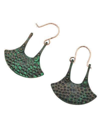 Handbag Shaped Earrings - BLACK  Mobile