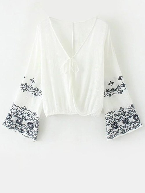 Embroidered Vintage Blouse