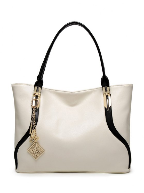 Chains Pendant Shoulder Bag -   Mobile