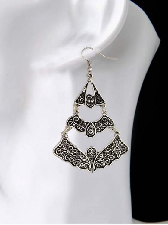 Hollow Out Butterfly Earrings -   Mobile