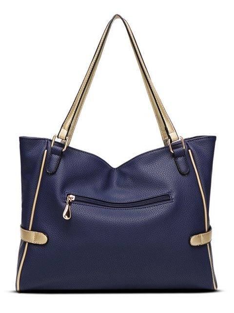 buy Chains Pendant PU Leather Shoulder Bag -   Mobile