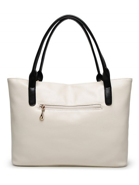 women Chains Pendant Shoulder Bag - BLUE  Mobile