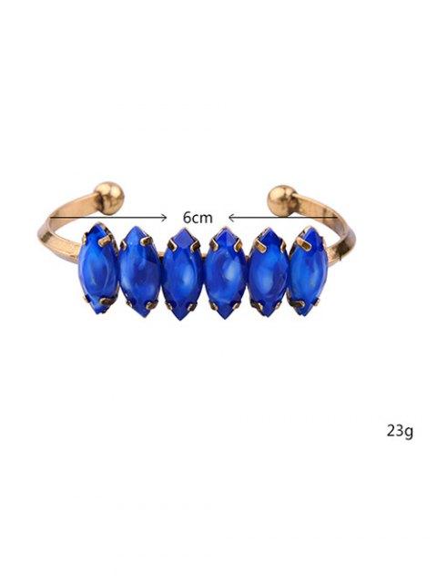 shops Faux Sapphire Cuff Bracelet -   Mobile