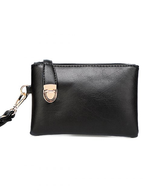 fashion Metal Chains PU Leather Handbag -   Mobile