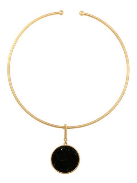 best Circle Natural Stone Necklace -   Mobile