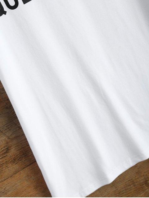 ladies Jewel Neck Queen Bee T-Shirt - WHITE S Mobile
