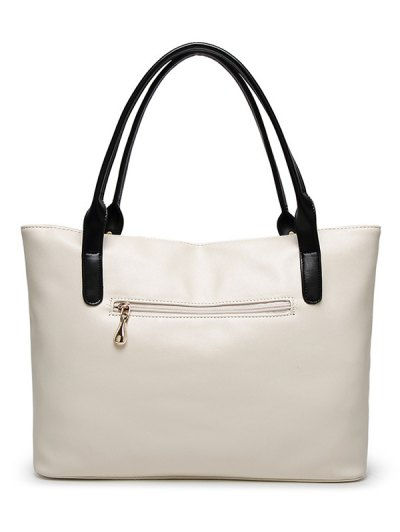 Chains Pendant Shoulder Bag - OFF-WHITE  Mobile