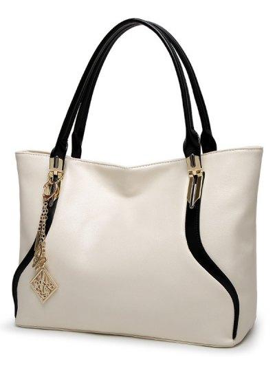 Chains Pendant Shoulder Bag - RED  Mobile