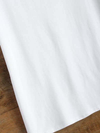 Jewel Neck Sivan 95 T-Shirt - WHITE L Mobile