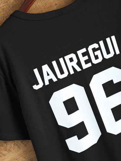 Jewel Neck Jauregui 96 T-Shirt - BLACK M Mobile