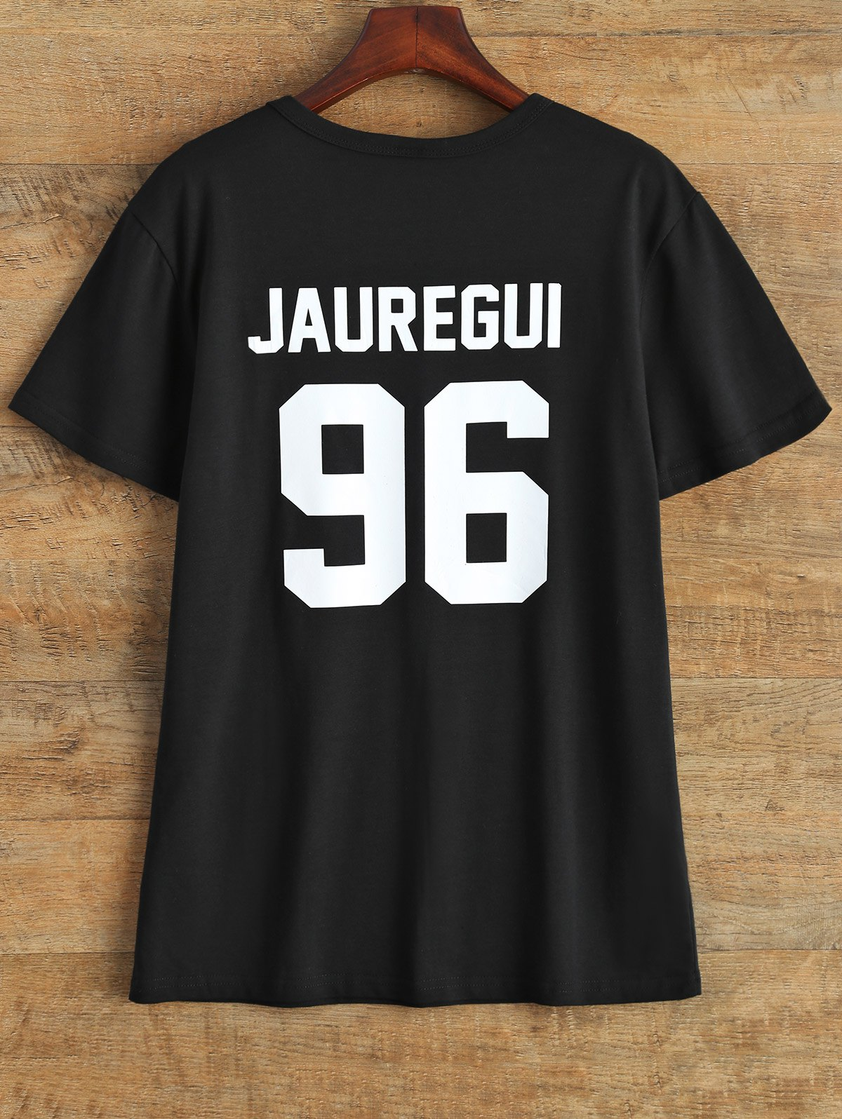 Jewel Neck Jauregui 96 T-Shirt