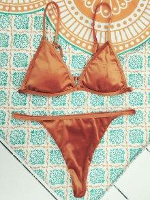Velvet Reversible Bikini Set - Jacinth
