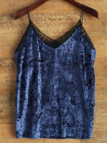 Cami Lace Spliced Tank Top