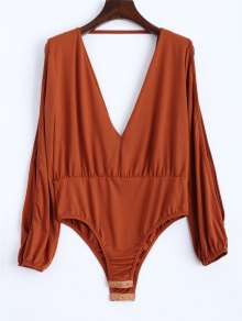 Split Cold Shoulder Bodysuit