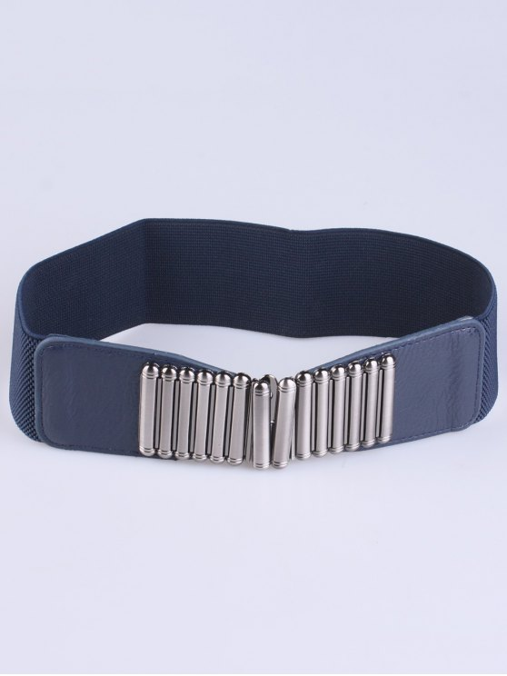 Bowknot Decorative Elastic Wide Belt -   Mobile