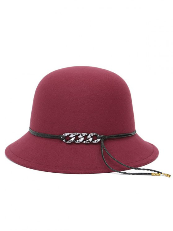 PU Rope Dome Hat -   Mobile