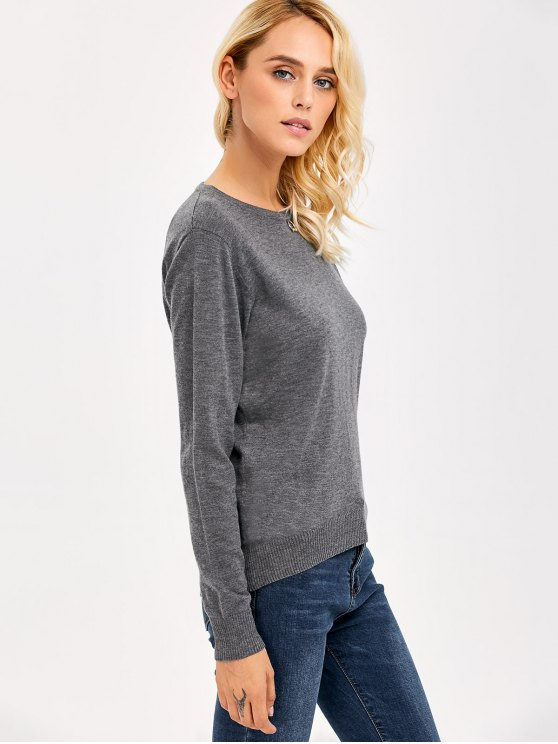 Comfy Knitwear - GRAY ONE SIZE Mobile