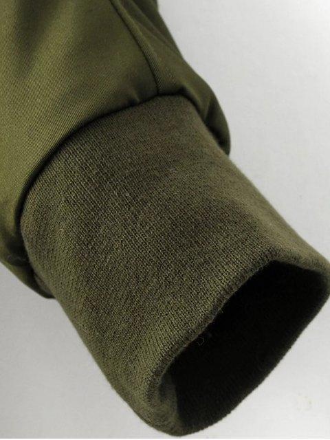 hot Skirted Utility Coat - BLACK L Mobile
