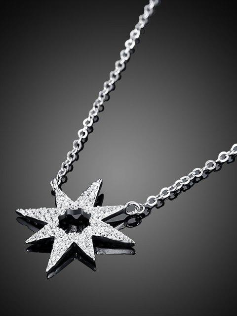 sale Star Flower S925 Diamond Necklace -   Mobile