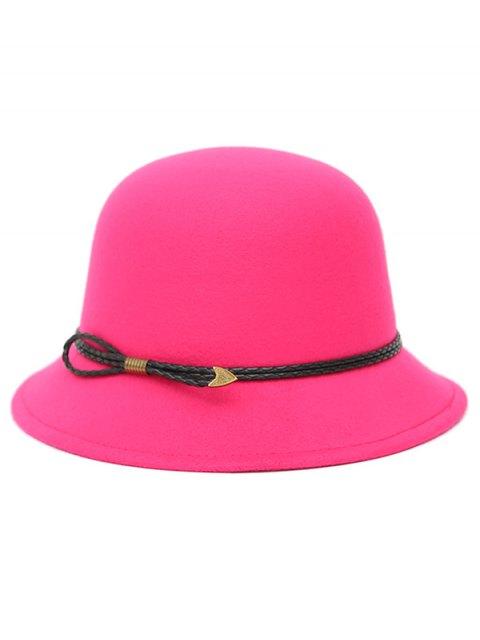 unique PU Rope Arrow Dome Hat -   Mobile