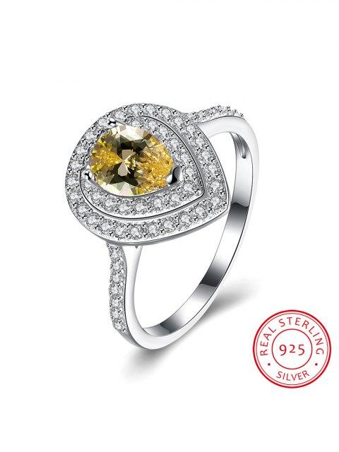 sale Teardrop Shape S925 Diamond Ring -   Mobile
