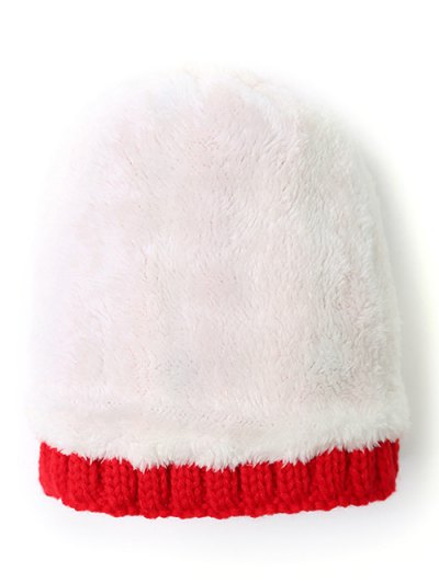 Pom Ball Star Rhinestone Beanie - BRIGHT RED  Mobile
