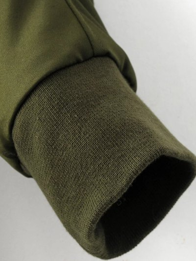 Skirted Utility Coat - ARMY GREEN S Mobile