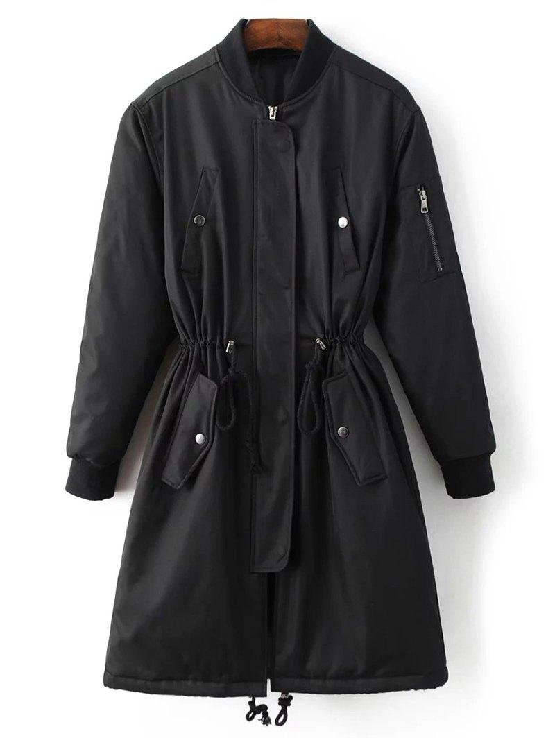 Skirted Utility Coat