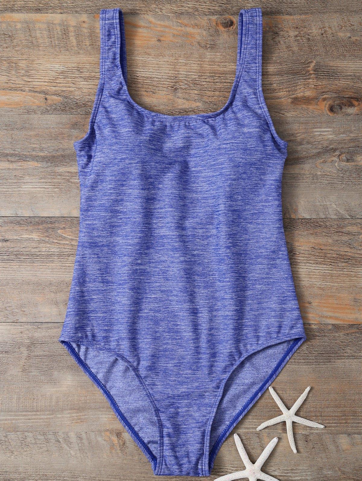 Straps Padded Backless Swimwear
