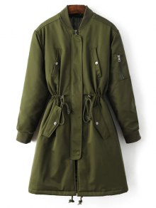 Skirted Utility Coat