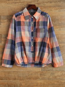 Buy Checked Shirt Pocket 2XL PLAID