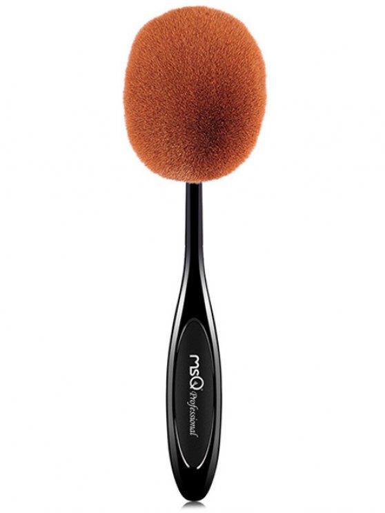 Fiber Toothbrush Shape Powder Brush - BLACK  Mobile