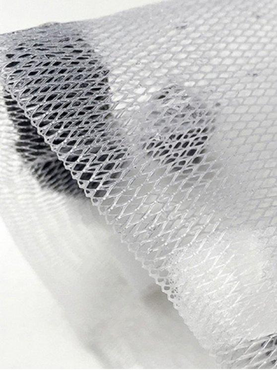 Bubble Foaming Net Face Cleansing Net - WHITE  Mobile