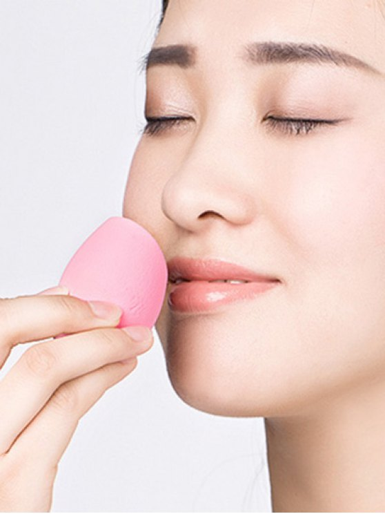 Cut Egg Water Swellable Beauty Blender - PINK  Mobile