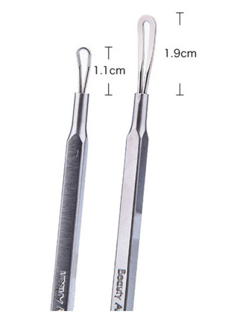 best Comedo Pimples Removal Acne Needle - SILVER  Mobile