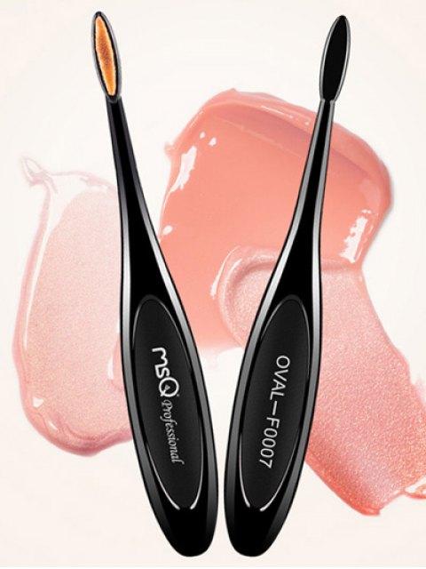 outfit Toothbrush Shape Lip Brush - BLACK  Mobile
