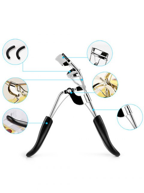 women's Beauty Tool Partial Eyelash Curler - SILVER  Mobile