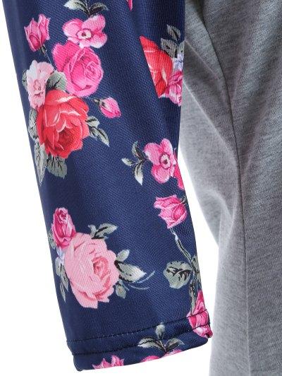 Loose Rose T-Shirt - GRAY XL Mobile