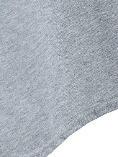Loose Rose T-Shirt - GRAY S Mobile