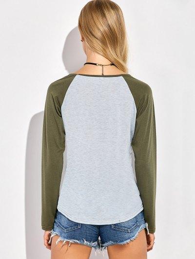 Christmas Letter T-Shirt - GRAY 3XL Mobile