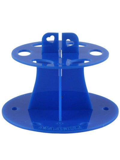 Makeup Toothbrush Brush Stand - BLUE  Mobile