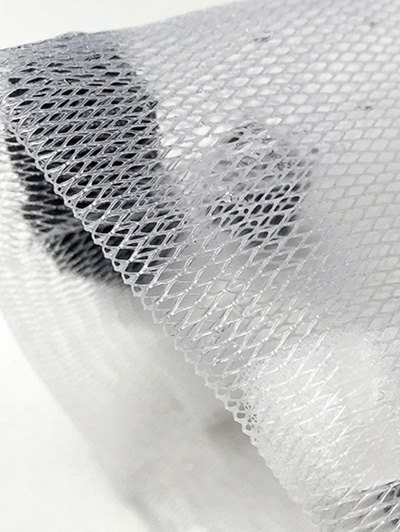 Bubble Foaming Net Face Cleansing Net - WHITE  Mobile