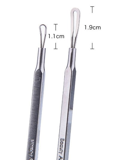 Comedo Pimples Removal Acne Needle - SILVER  Mobile