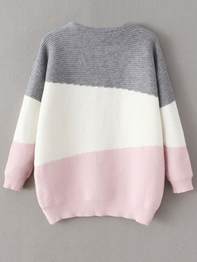 Oversized Comfy Sweater - PINK ONE SIZE Mobile