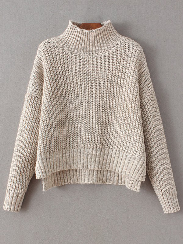 Chunky Mock Neck Sweater