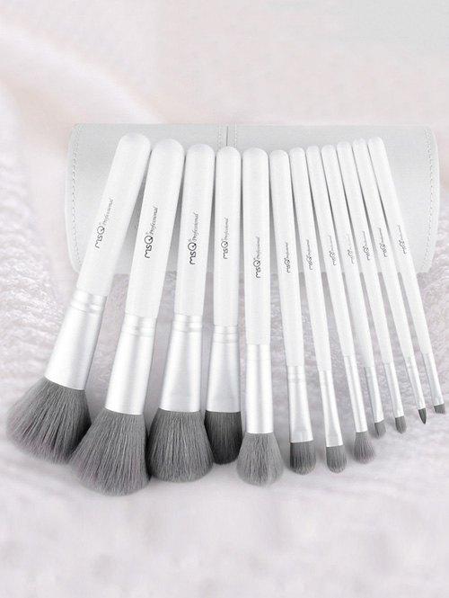 12 Pcs Fiber Makeup Brushes Set With Brush Holder