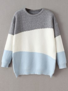 Oversized Comfy Sweater - Blue