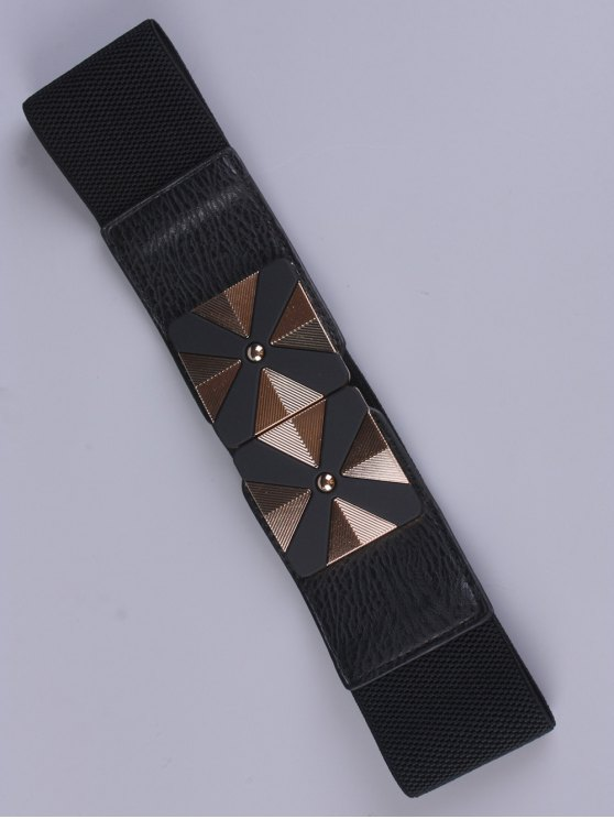 Square Alloy Stretch Belt -   Mobile